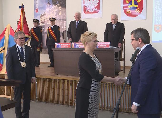 II SESJA – Beata Klimek oficjalnie zaprzysiężona na Prezydenta