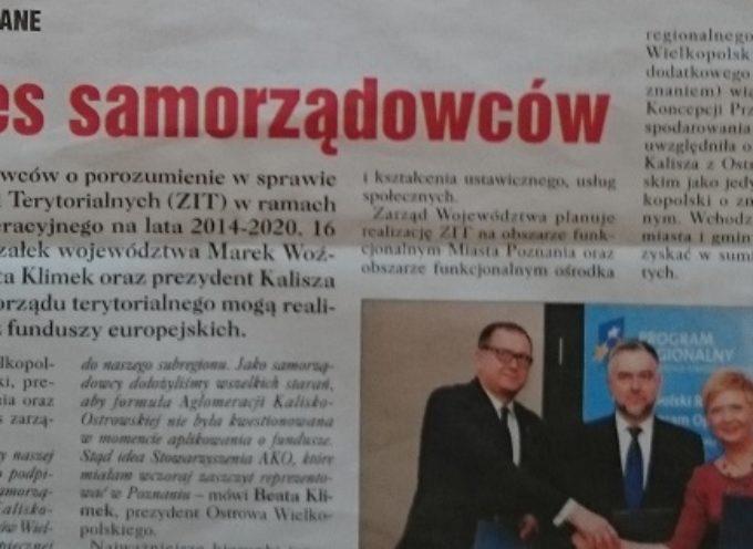 Marszałek Woźniak protestuje – nie ma zgody na mój wizerunek w materiale wyborczym