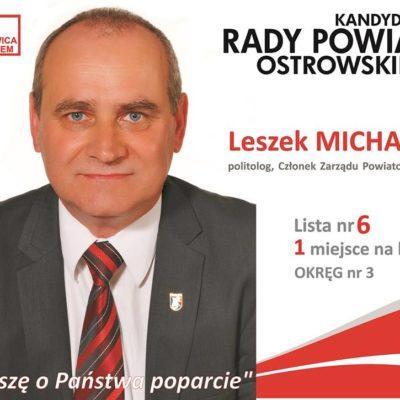 Leszek Michalak zawiesza członkostwo w SLD