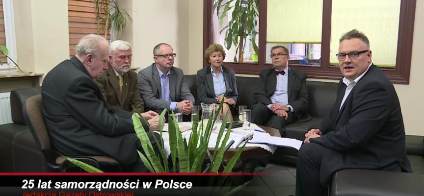25 lat samorządności w Polsce – retransmisja spotkania w Gazecie Ostrowskiej