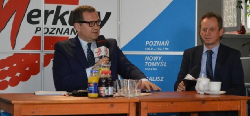 Dyskusja mieszkańców z prezydentem Sapińskim