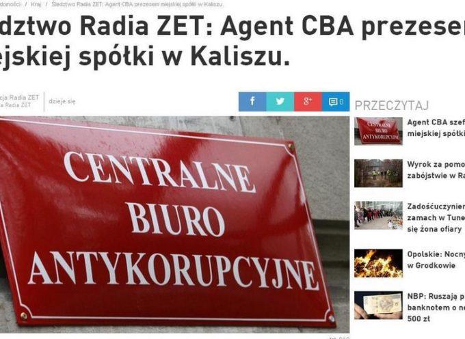 Radio Zet – skandal w CBA, czynny agent szefem spółki