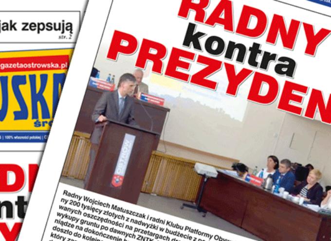 Przegląd prasy z Gazetą Ostrowską – środa 10 czerwca 2015