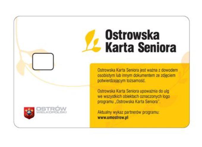 Karta Seniora już od lipca w Ostrowie