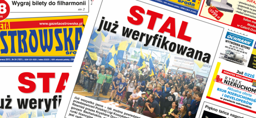 Przegląd prasy z Gazetą Ostrowską (16.06.2015)