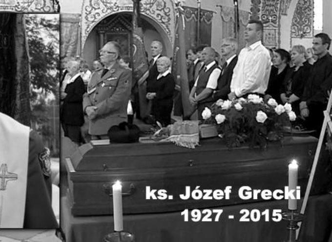 Msza św. pogrzebowa ks. mjr Józefa Greckiego – retransmisja