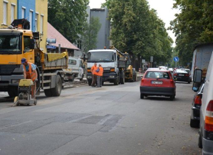 Utrudnienia na ul. Kościuszki