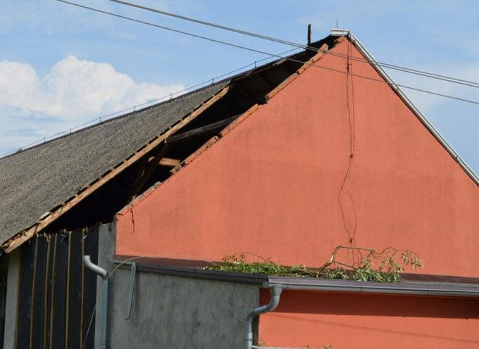 Nawałnica i zerwane dachy – Doruchów, Przytocznica