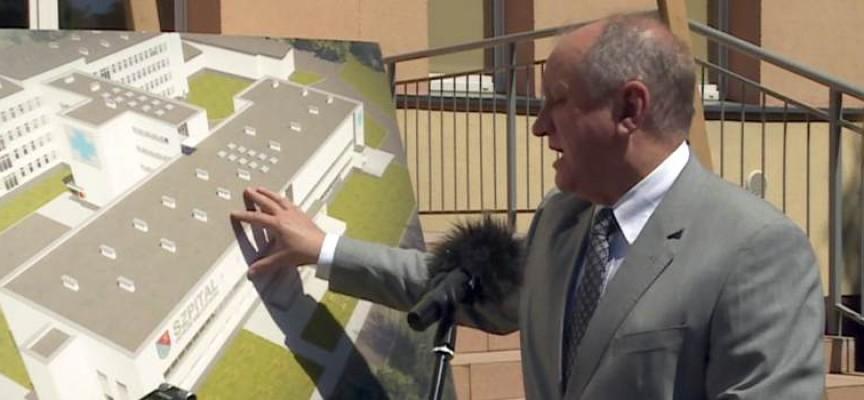 Ostrowski szpital będzie rozbudowany – konferencja Starosty Ostrowskiego i Dyrektora szpitala