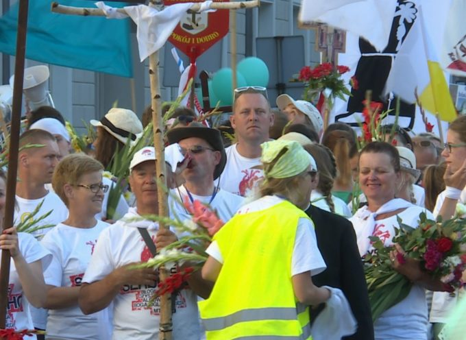 Powitanie w Kaliszu – 378. Kaliska i 24. Diecezjalna Piesza Pielgrzymka na Jasną Górę – RETRANSMISJA
