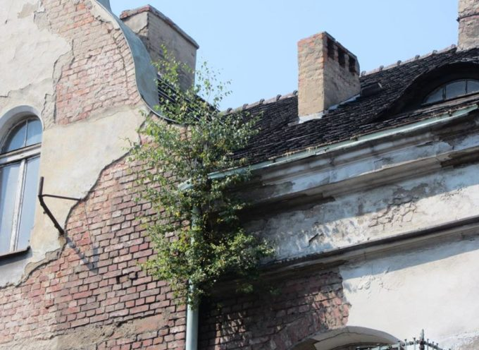 Budynek nadal zagraża i straszy