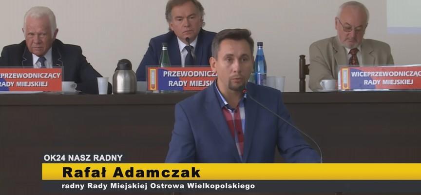 RAFAŁ ADAMCZAK – interpelacje XI Sesja Rady Miejskiej Ostrowa Wielkopolskiego