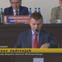 Łukasz Jędrzejak – interpelacje XI Sesja Rady Miejskiej Ostrowa Wielkopolskiego