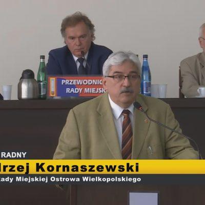 Andrzej Kornaszewski – interpelacje XI Sesja Rady Miejskiej Ostrowa Wielkopolskiego