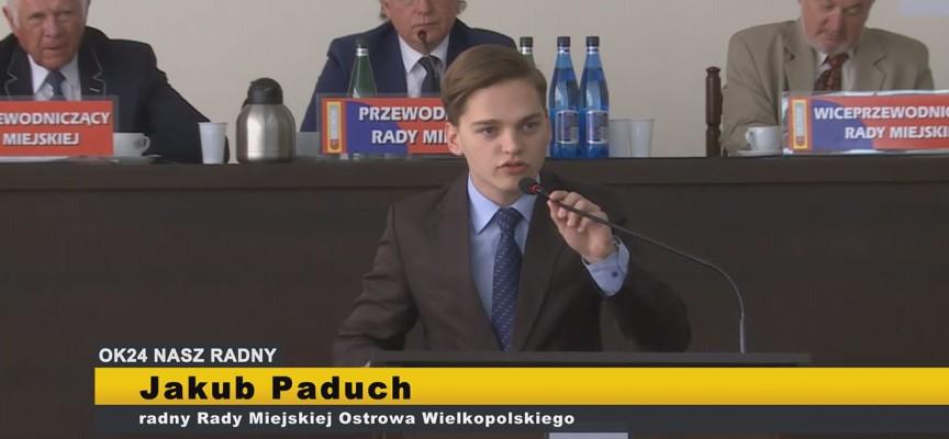Jakub Paduch – interpelacje XI Sesja Rady Miejskiej Ostrowa Wielkopolskiego