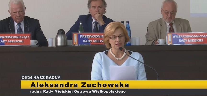 Aleksandra Zuchowska – interpelacje XI Sesja Rady Miejskiej Ostrowa Wielkopolskiego