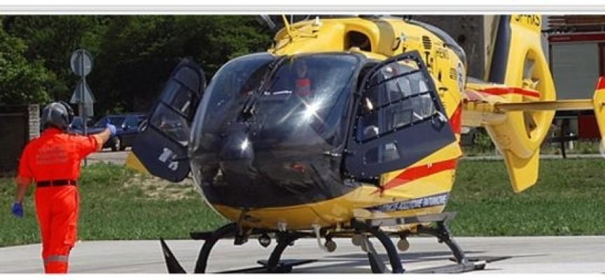 Helikopter z Michałkowa doleci do wypadku w kilka minut