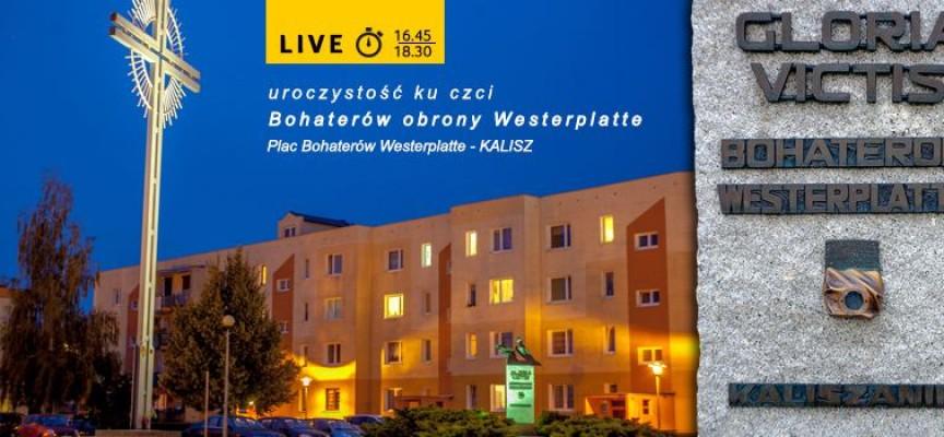 Uroczystość ku czci Bohaterów obrony Westerplatte -zaproszenie