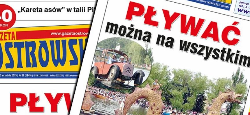 Przegląd prasy z Gazetą Ostrowską – 23 września 2015