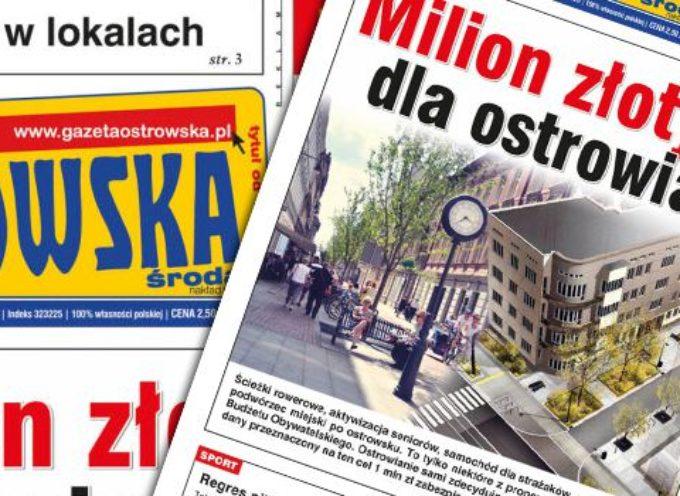 Przegląd prasy z Gazetą Ostrowską – 9 września 2015