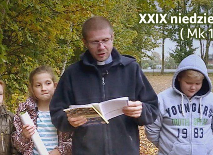 XXIX niedziela zwykła – słowo na Niedzielę