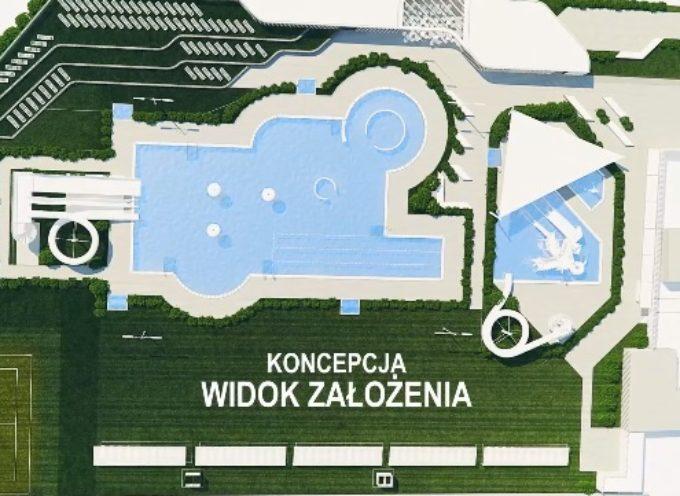 Kolejna wizualizacja miejskiego basenu i przetarg w systemie zaprojektuj-wybuduj