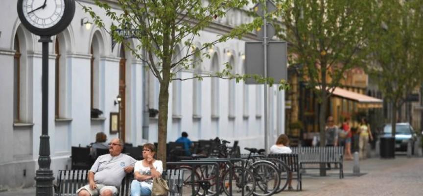 Zielona Raszkowska z ławkami i stojakami – chcesz by tak było – głosuj