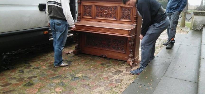 Nowy eksponat w pałacu w Lewkowie