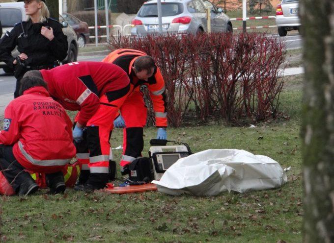 Kobieta wypadła z balkonu na ul. H.Sawickiej