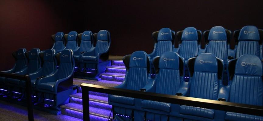 Kino 6D w Galerii Ostrovia