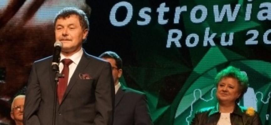 Janusz Tarchalski z tytułem Ostrowianina 2015 Roku