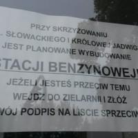 Oprotestowana stacja paliw przy Al.Słowackiego raczej powstanie