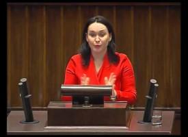 Poseł Możdżanowska w komisji śledczej