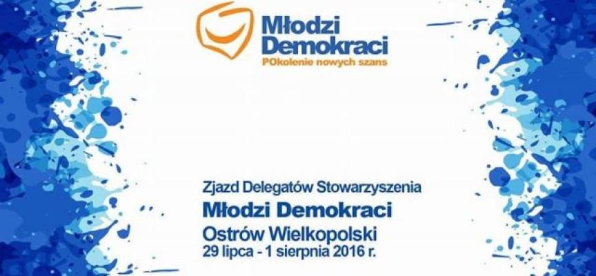 Zjazd Delegatów Stowarzyszenia Młodzi Demokraci w Ostrowie