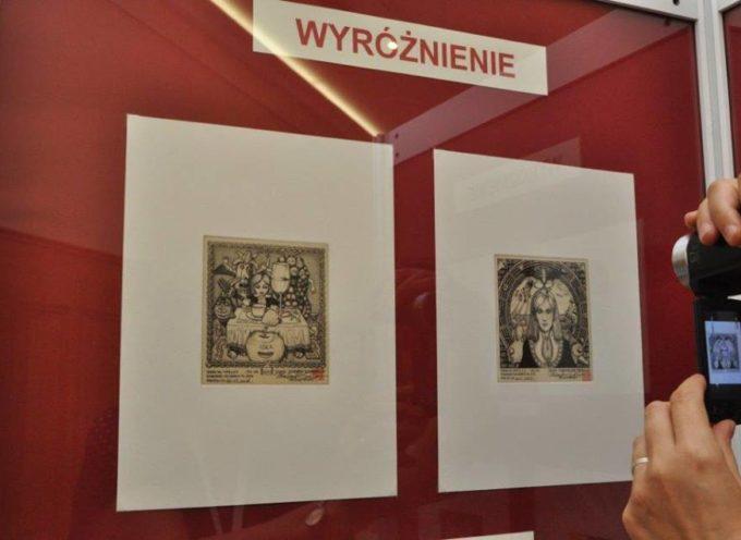 Exlibris marką Ostrowa Wielkopolskiego