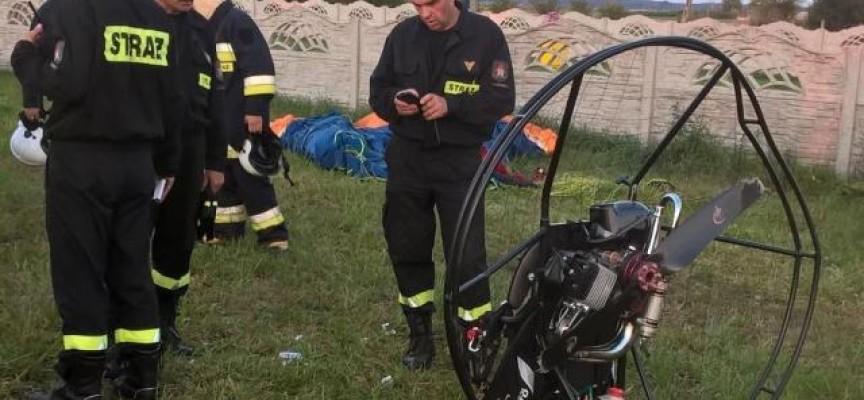 Runęła paralotnia – pilot nie żyje