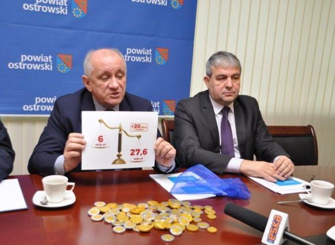 Powiat podsumowuje dwa lata – pozyskano ponad 37 milionów