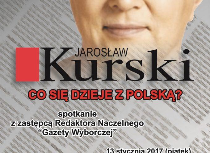 Jarosław Kurski w Kaliszu w Cafe Calisia