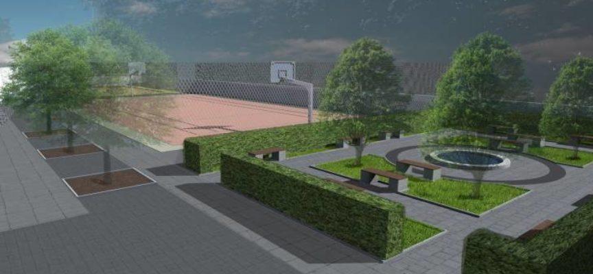 Nowe boisko przy I liceum