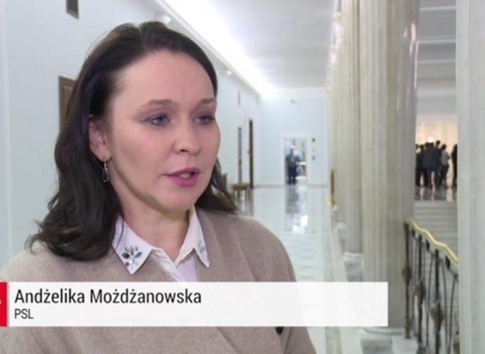 Andżelika Możdżanowska nie komentuje swego odejścia z PSL