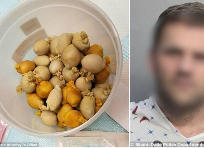 DJ z Ostrowa w żołądku przemycał kokainę