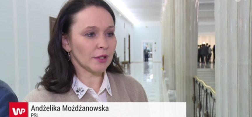 Z ławy PSL do Ministerstwa Rozwoju – awans Andżeliki Możdżanowskiej