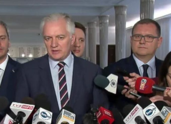 Prezydent Sapiński z Gowinem, Prezydent Klimek z … ?