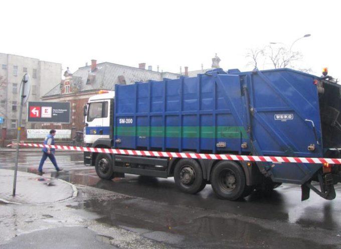 Śmierć pod kołami śmieciarki
