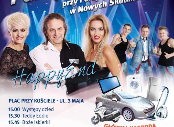 Parafialny festyn w Nowych Skalmierzycach- do wygrania kabriolet i skuter