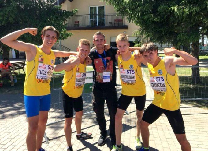 Złoci lekkoatleci z Ostrowa