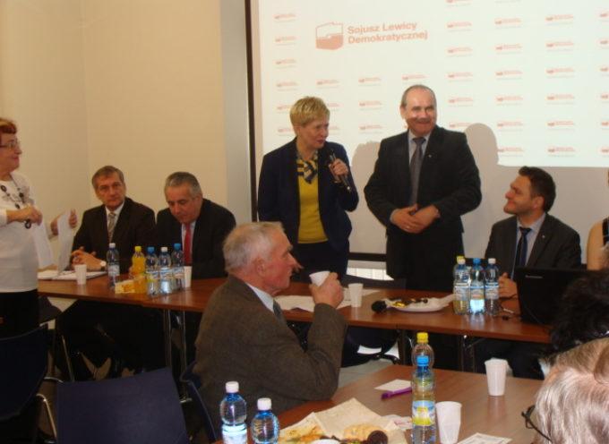 Beata Klimek z poparciem SLD