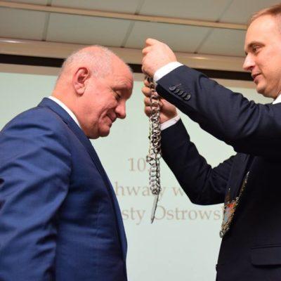 Paweł Rajski po raz trzeci starostą