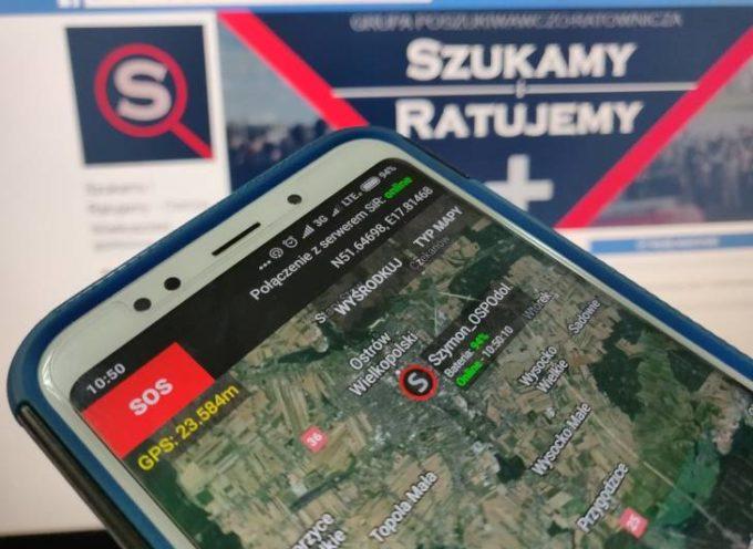 Aplikacja pomocna w poszukiwaniu zaginionych