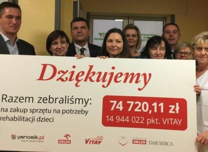 Dar Serca od Orlenu dla ostrowskiego szpitala
